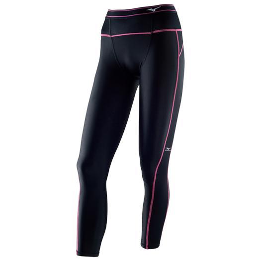 適合運動時穿著,具支撐性及活動自如的BG3000R A76BP-37094(黑*粉紅)【美津濃MIZUNO】