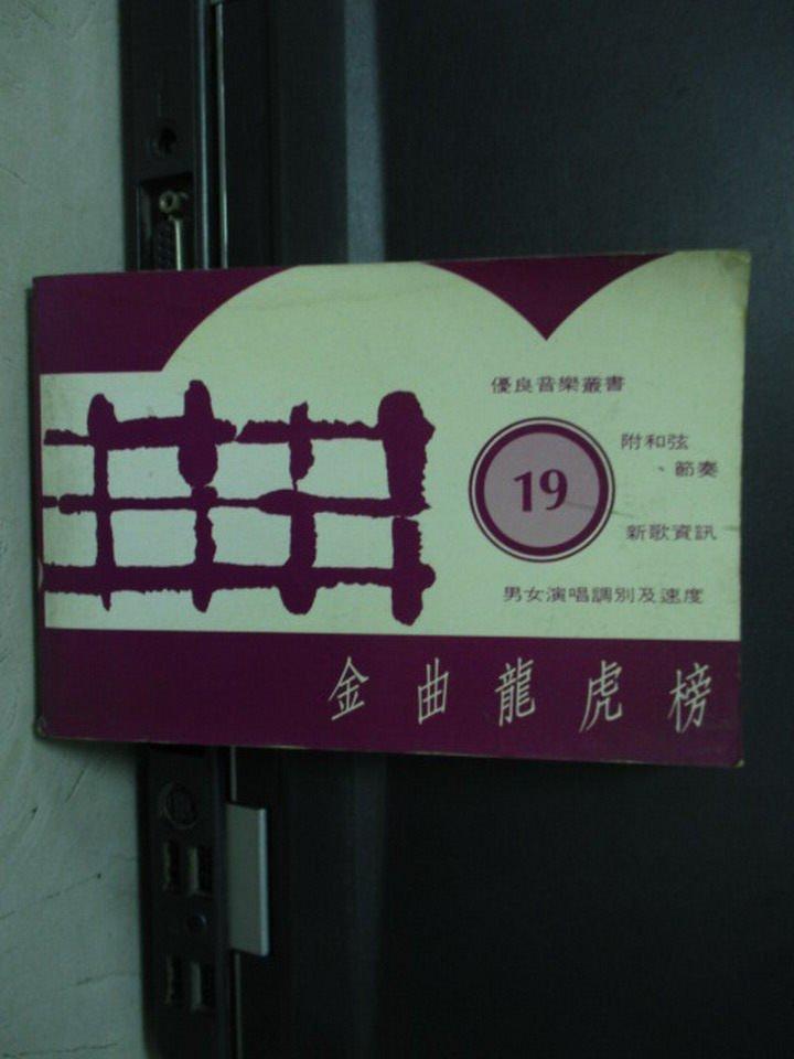 【書寶二手書T2/音樂_LPB】金曲龍虎榜19_民83