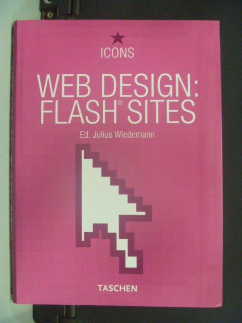 【書寶二手書T9/電腦_KHO】Web design : flash sites_原價350元