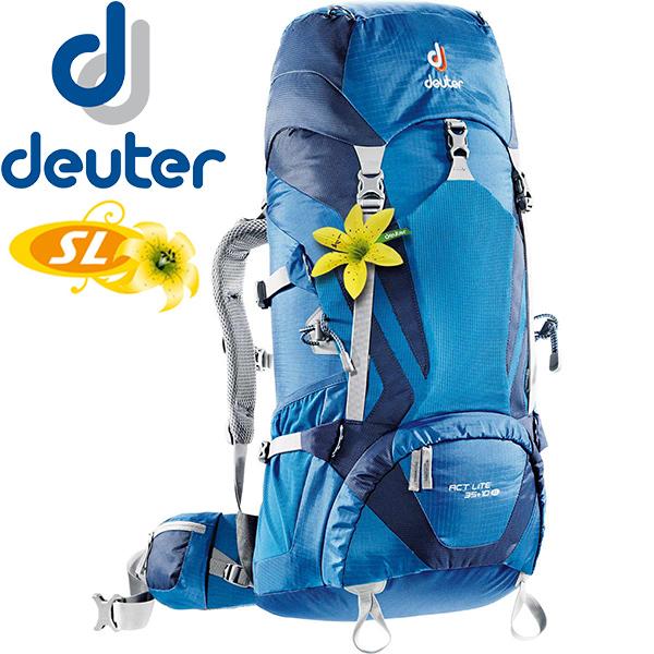 【露營趣】送贈品 德國 deuter 3340015 ACT Lite 35+10SL 拔熱透氣登山背包 登山袋
