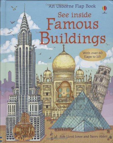 英國 Usborne 翻翻書 See inside Famous Buildings *夏日微風*
