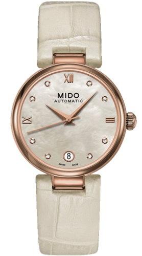 MIDO 美度 Baroncelli 優雅真鑽機械錶腕錶/33MM/M0222073611611