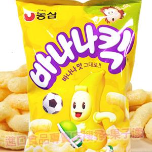 韓國農心 香蕉風味 玉米脆果 脆餅 [KR199]