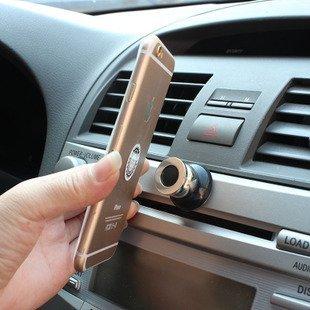 手機平板磁力支架 手機磁吸式萬用支架 360度旋轉磁性多功能手機架 汽車用品磁鐵支架 通用手機架 黑色