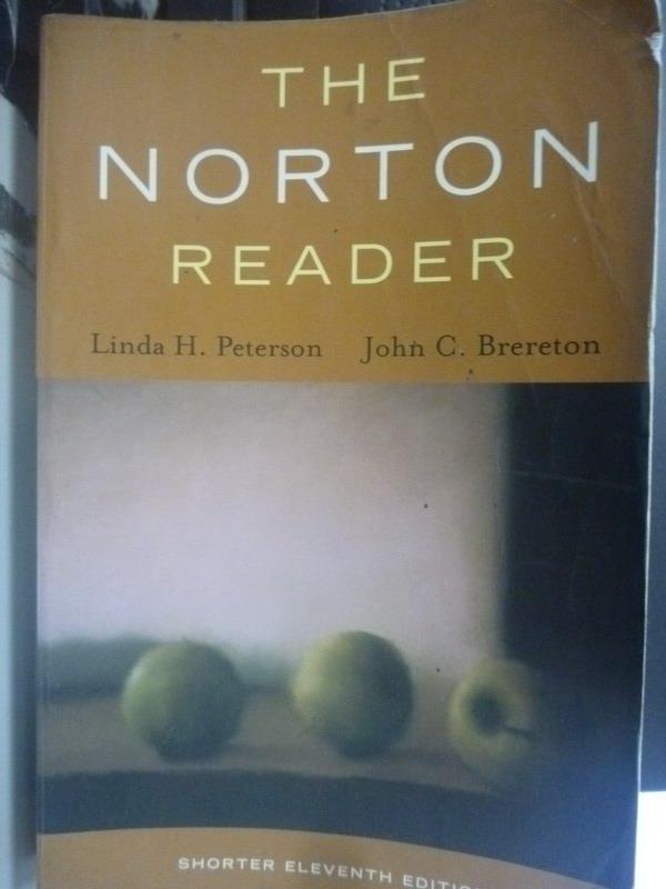 【書寶二手書T4/原文小說_XGN】The Norton Reader: An Anthology