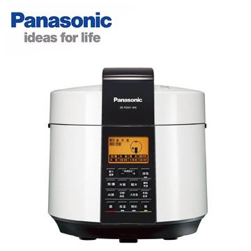 Panasonic  國際牌 5L微電腦電氣壓力鍋SR-PG501 /滷燉蒸煮炒一鍋就行