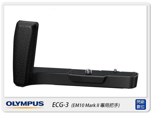 OLYMPUS ECG-3 把手 握把 手把(ECG3,EM10 Mark II EM10M2 專用,元佑公司貨)【分期0利率,免運費】