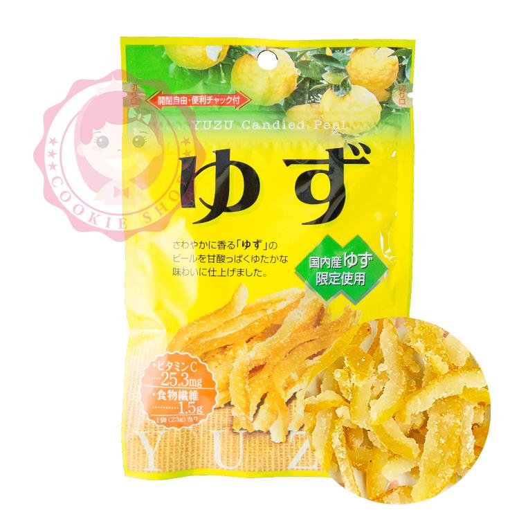日本 Sokan 柚子皮/柚子果乾 (23g)【庫奇小舖】
