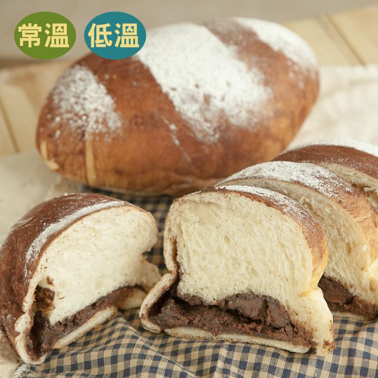 [蕃薯藤]鑽石巧克力奶酥麵包(T-W/C)紮實又Q軟的麵包,配上自家製巧克力奶酥內餡,甜而不膩!!!一定要吃吃看