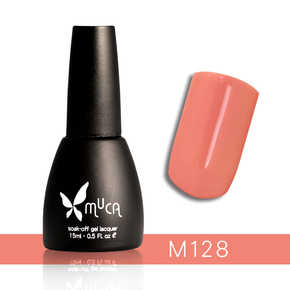 Muca沐卡 即期光撩凝膠指甲油 M128(15ml)