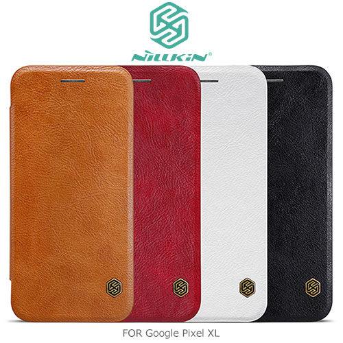 【愛瘋潮】NILLKIN Google Pixel XL 秦系列皮套 側翻皮套 保護套 手機殼