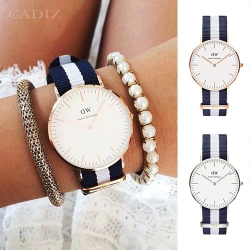 【Cadiz】瑞典DW手錶Daniel Wellington 0503DW玫瑰金 0602DW銀 Glasgow 36mm [代購/ 現貨]