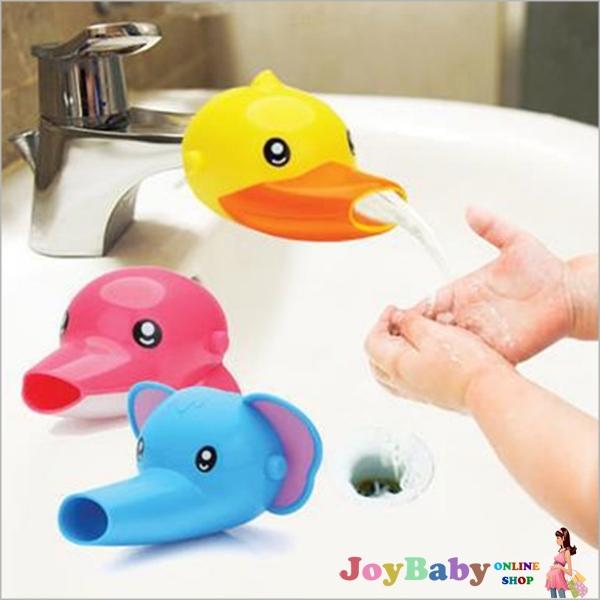 水龍頭延伸器/兒童洗漱洗手必備輔助水龍頭卡通造型寶寶洗手器 導水器【JoyBaby】