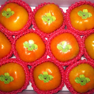 《柿外桃園》A001016 日本甜柿(7兩10粒裝)