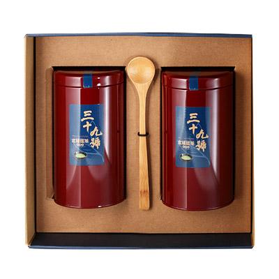 《好客-39號北埔擂茶》精品禮盒組 兩罐裝(擂茶粉/ 300g 罐)(免運商品)