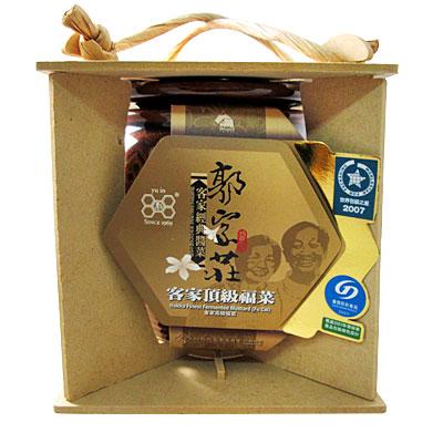 《郭家莊豆腐乳》A013008 陶瓷客家頂級福菜(250g/罐)