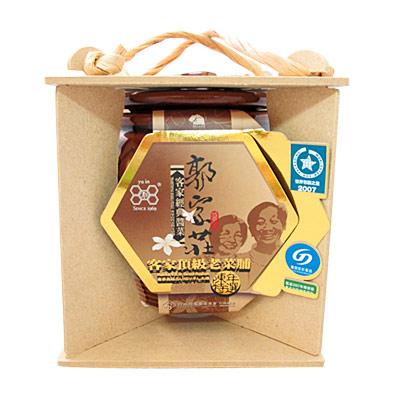《郭家莊豆腐乳》A013010 陶瓷客家頂級老菜脯(200g/罐)