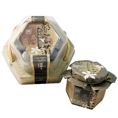 《郭家莊豆腐乳》A013012 客家經典辣豆鼓(130g/罐)