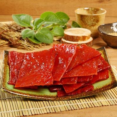 《好客-霽月肉鬆》蜜汁肉乾(300g/包),共兩包(免運商品)_A023010
