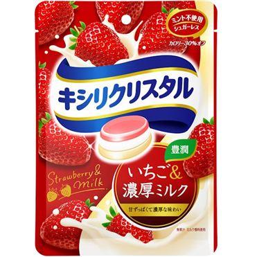 有樂町進口食品 日本進口 三星低卡薄荷喉糖 草莓&濃牛奶 4547894702604