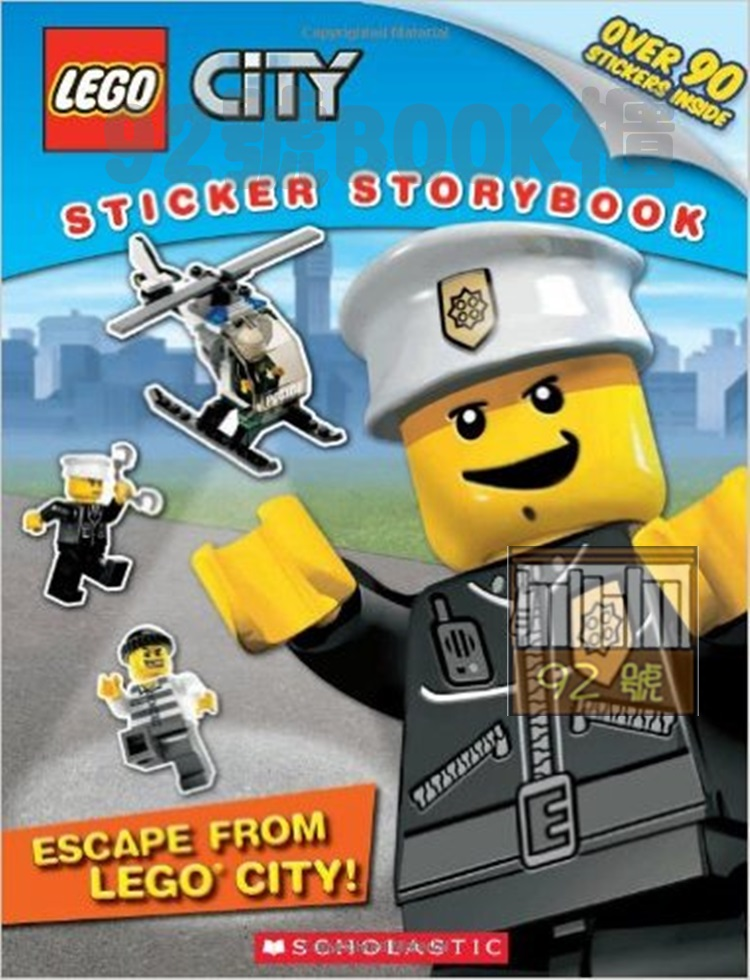 LEGO City: Escape from LEGO City!: Sticker Storybook