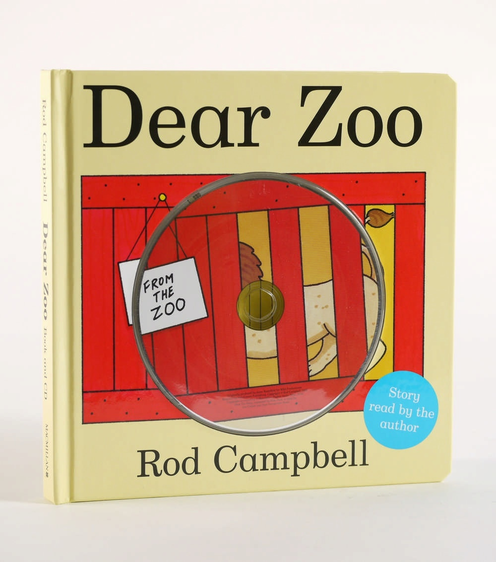 DEAR ZOO Board Book & CD Pack (audio read by Rod Campbell)