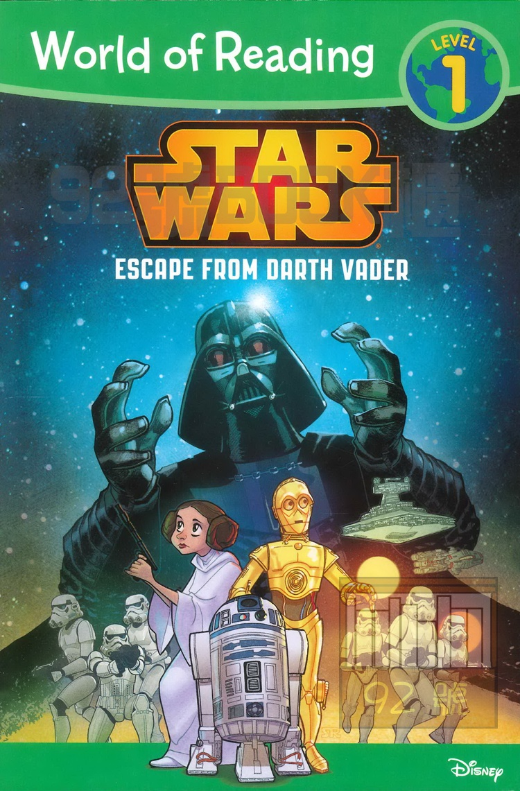 WORLD OF READING STAR WARS: ESCAPE FROM DARTH VADER: LEVEL 1