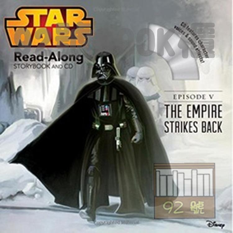 Star Wars: The Empire Strikes Back Read-Along (附CD)