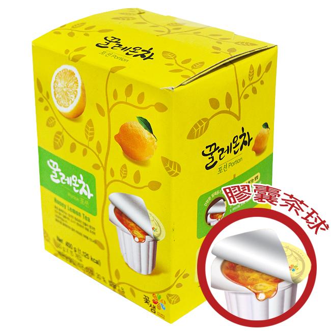 韓國꽃샘膠囊茶球禮盒30g×15顆-檸檬茶/蜂蜜茶系列/果醬球〔網購家〕