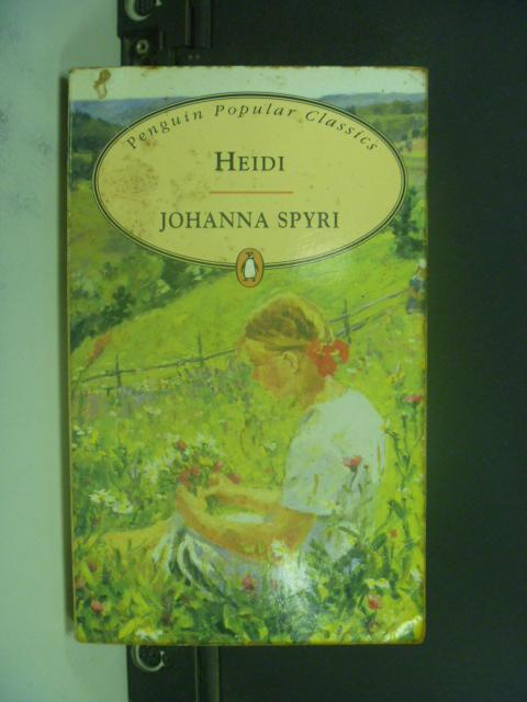 【書寶二手書T1/原文小說_NRT】Heidi_SPYRI, JOHANNA