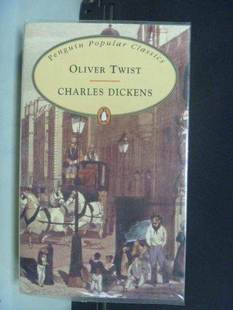 【書寶二手書T7/原文小說_JPC】Oliver Twist_DICKENS