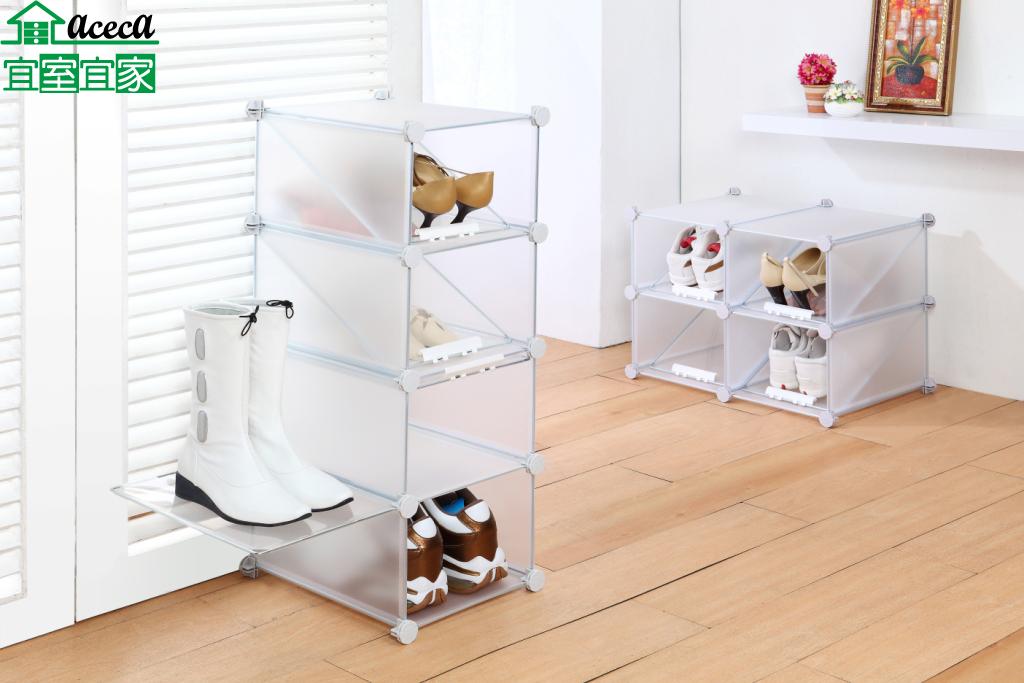 鞋架 鞋櫃 置物櫃 收納櫃 活動櫃 DIY MIT 台灣製【宜室宜家F062-1*4】