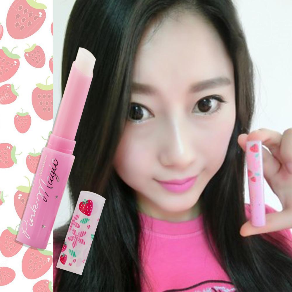 代購現貨 泰國 Mistine 小草莓變色護唇膏 1.7g IF0145