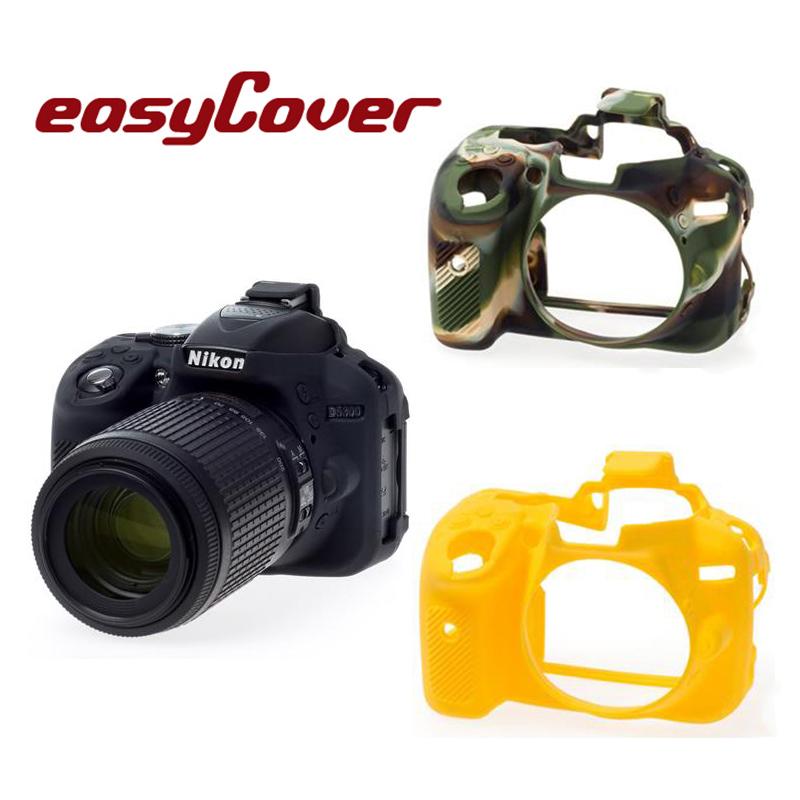 ◎相機專家◎ easyCover 金鐘套 Nikon D5300 適用 果凍 矽膠 防塵 保護套 公司貨 另有 D5