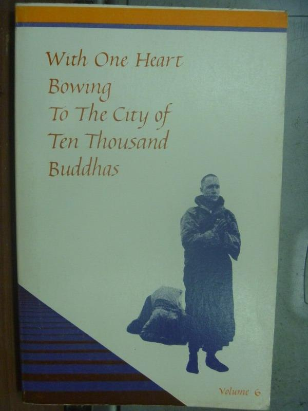 【書寶二手書T7/宗教_OMF】With One Heart Bowing To the City..Buddas