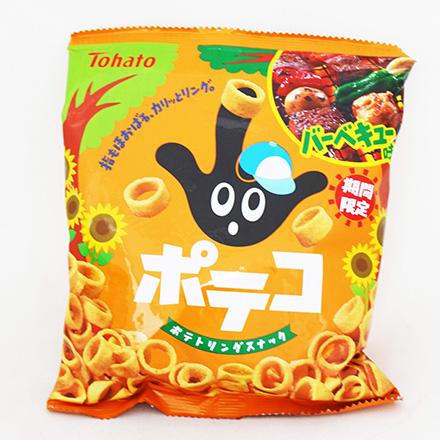 [敵富朗超市]東鳩手指圈圈餅BBQ味(58g)