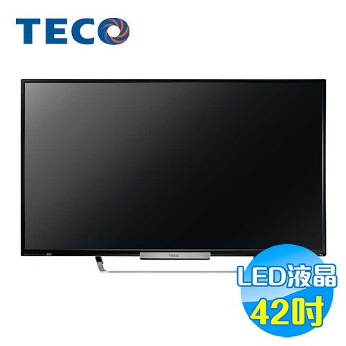東元 TECO 42吋 FHD多媒體 影音數位 LED顯示器+視訊盒 TL4236TRE