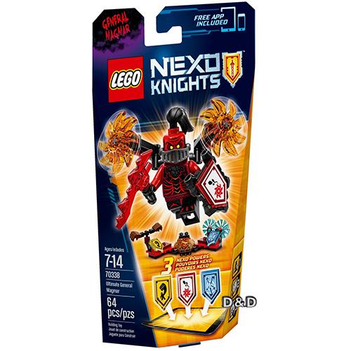 樂高積木LEGO《 LT70338 》Nexo Knights 未來騎士系列 - 終極曼格瑪將軍