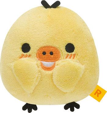 【真愛日本】16082600002生活札記害羞公仔SS-小雞   拉拉熊 Rilakkuma 娃娃 擺飾 收藏