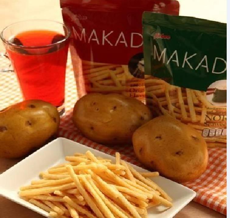 泰國MAKADO麥卡多薯條 鹽味/海苔 *1包   樂活生活館