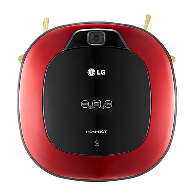 【LG樂金】好正簡約款。智慧掃地清潔機器人。寶石紅/VR6340LV