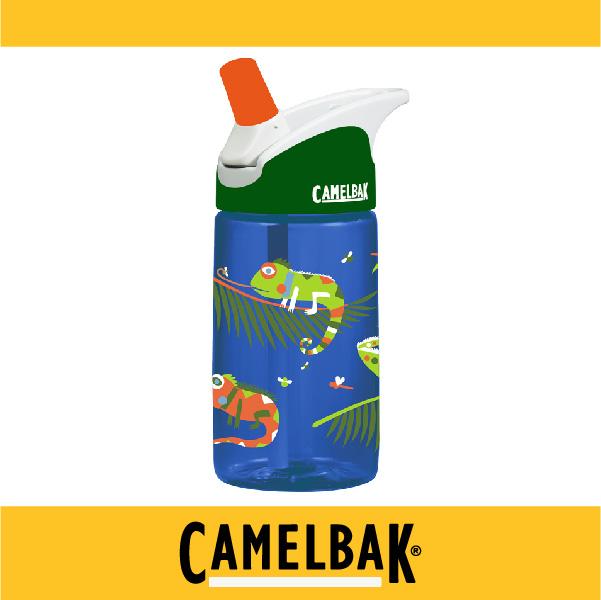 萬特戶外運動-CamelBak 美國補水專家 2016新品 400ml兒童吸管運動水瓶 CB53855 不溢漏 專治不愛喝水的小孩 (變色蜥蜴)