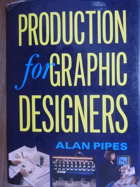 【書寶二手書T8/原文書_PLY】Production for Graphic Designers