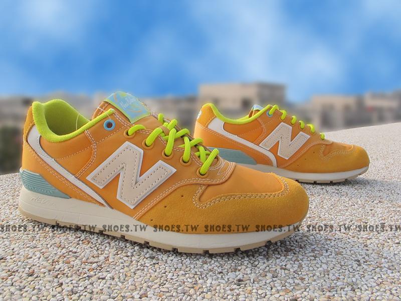 《超值68折》Shoestw【MRL996GD】NEW BALANCE NB996 橘麂皮 柳橙 男女都有