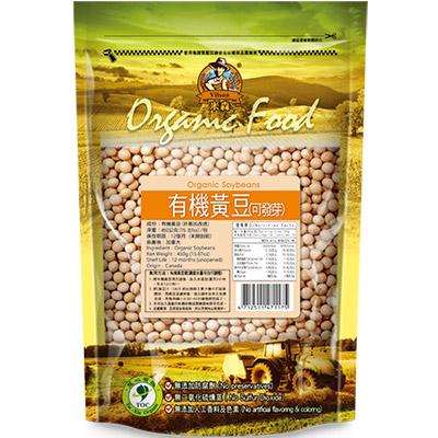 米森 有機黃豆(可發芽) 450g
