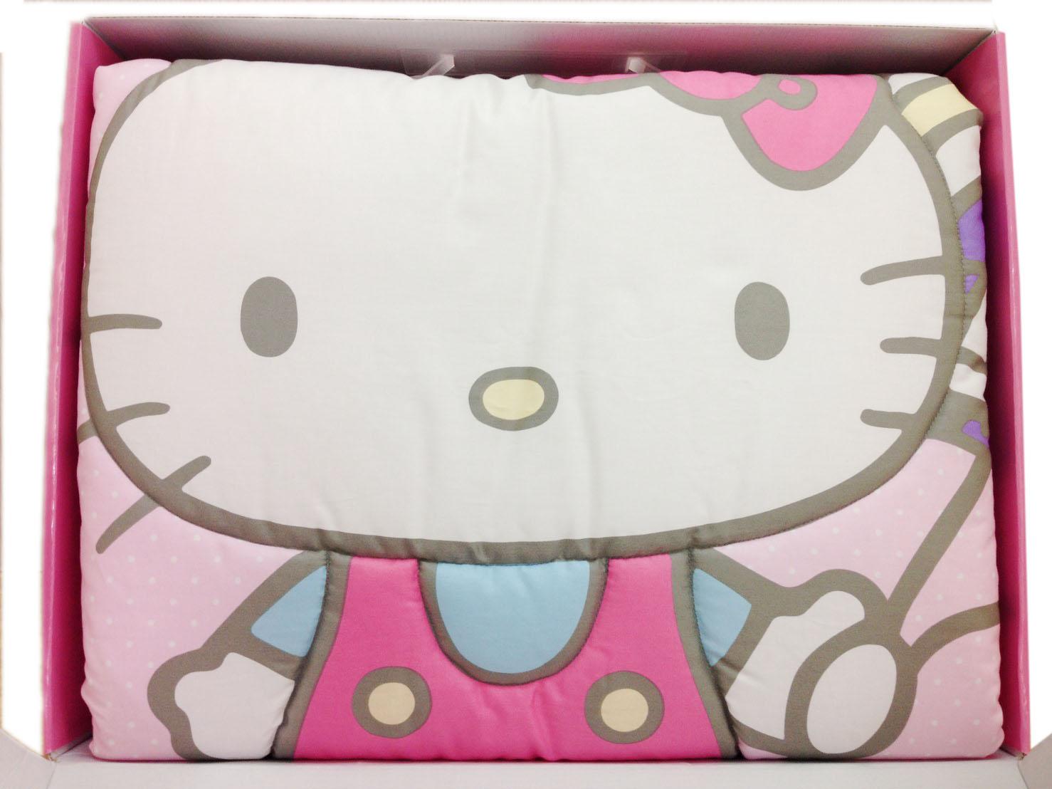 【真愛日本】16083100002四季被禮盒組  三麗鷗 Hello Kitty 凱蒂貓 嬰兒用品 正品 被子  預購