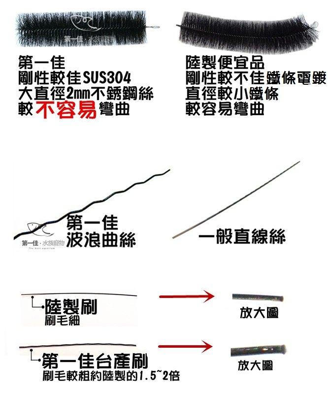 [第一佳 水族寵物] 批發過濾毛刷 [2.5尺] 工廠直營、台灣製、正白鐵(過濾刷 錦鯉過濾刷 魚池過濾刷 水池過濾刷)