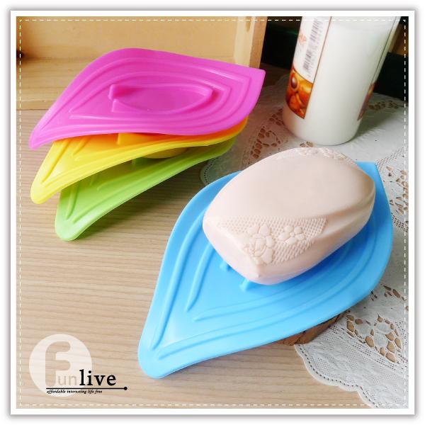 【aife life】葉子造型瀝水皂盤/滴水皂盤/肥皂盒/瀝水皂盒/肥皂架/廚房衛浴用品/菜瓜布架