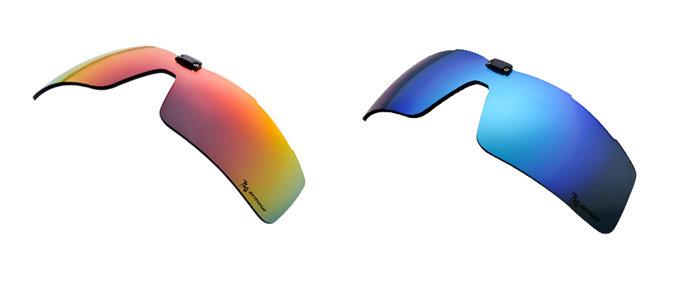 【露營趣】中和 720 armour Tack 飛磁換片 Polycarbonate備片 自行車眼鏡 運動太陽眼鏡 兩種類 L318-S15RK L318-S20RB