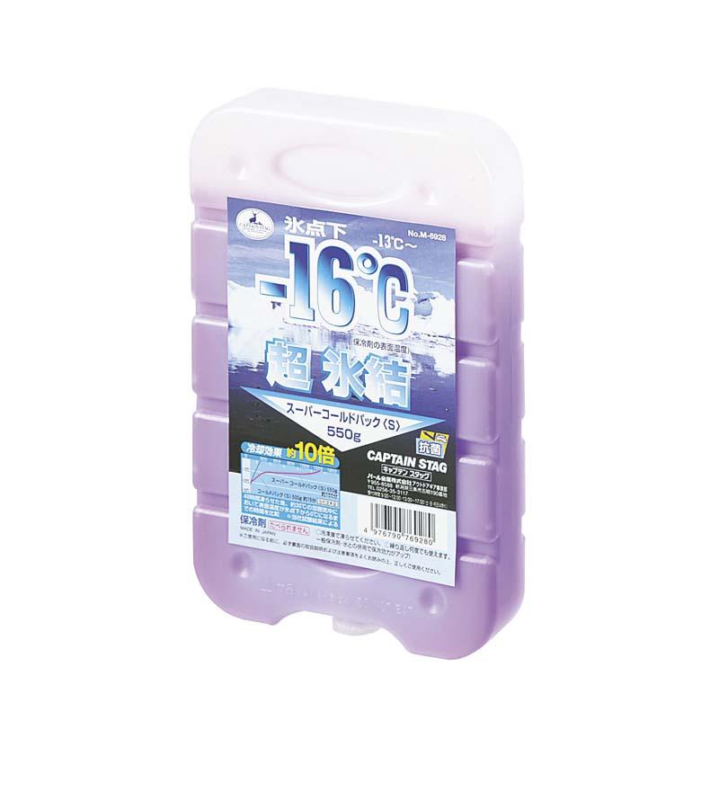 【露營趣】中和 鹿牌 Captain Stag M-6928 -16℃抗菌超凍媒 S 冰磚 冷凍磚 保冰劑 保冷劑 冰桶用